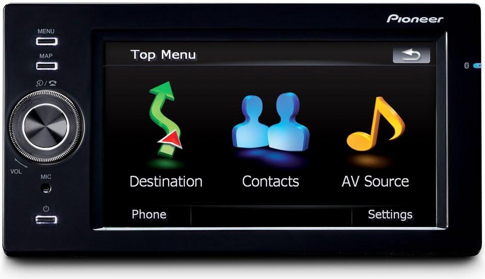 Pro Radio Club - News Technology: Pioneer AVIC-F500BT