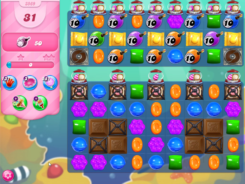 Candy Crush Saga level 3569
