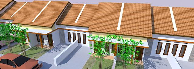 site plan rumah modern minimalis