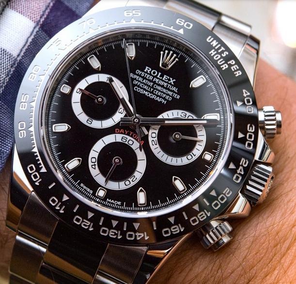 ... este modelo todavía tiene un montón de vida a la izquierda a pesar de  ser introducido inicialmente hace 16 años - replicas de relojes Rolex  Daytona. 6197d2b0a990
