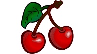 cherry fruit clipart