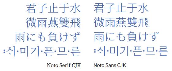 google fonts noto sans cjk jp