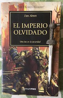 Portada del libro El imperio olvidado, de Dan Abnett