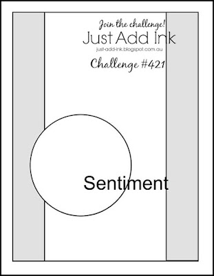 Jo's Stamping Spot - Just Add Ink Challenge #421