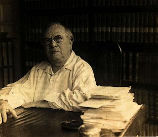 Constantin Brunner in Berlijn, 1932. Foto: ICBI