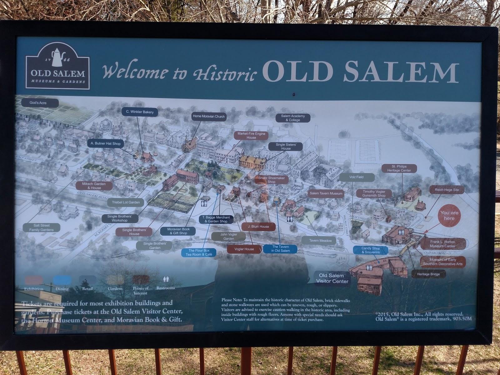 Old Salem Nc Map.Woven By Words Wordless Wednesday Old Salem North Carolina