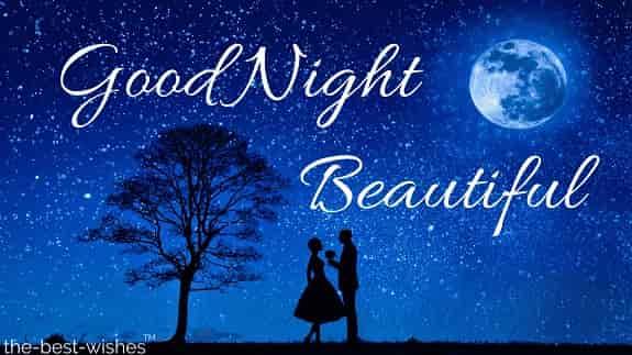 good night beautiful