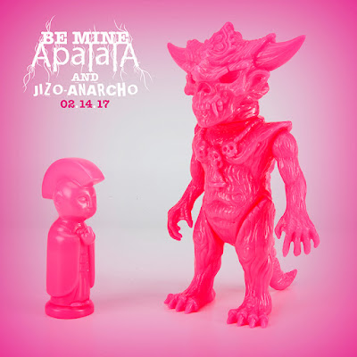 Apalala & Jizo-Anacho Be Mine Edition Vinyl Figures by Devils Head Productions