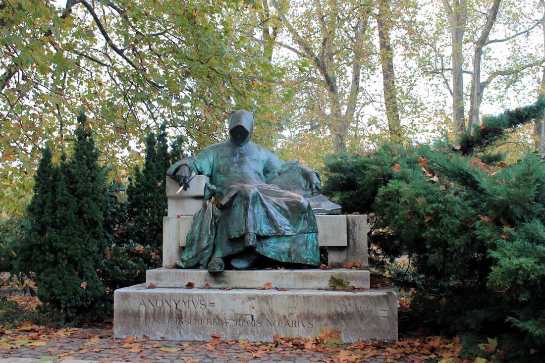 Notaio anonimo a Budapest