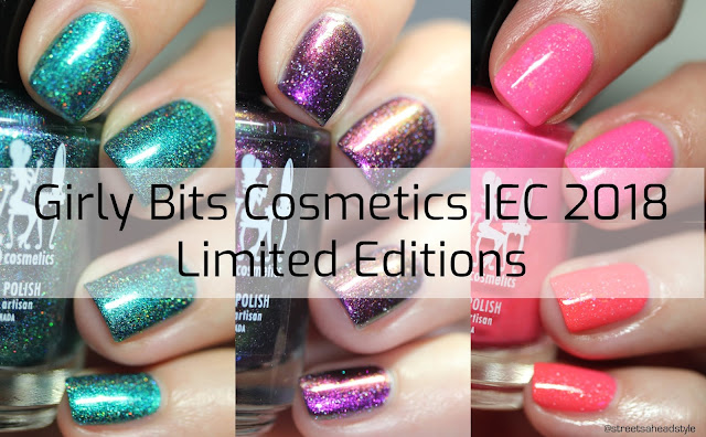 Girly Bits Indie Expo Canada 2018 LE swatched by Streets Ahead Style