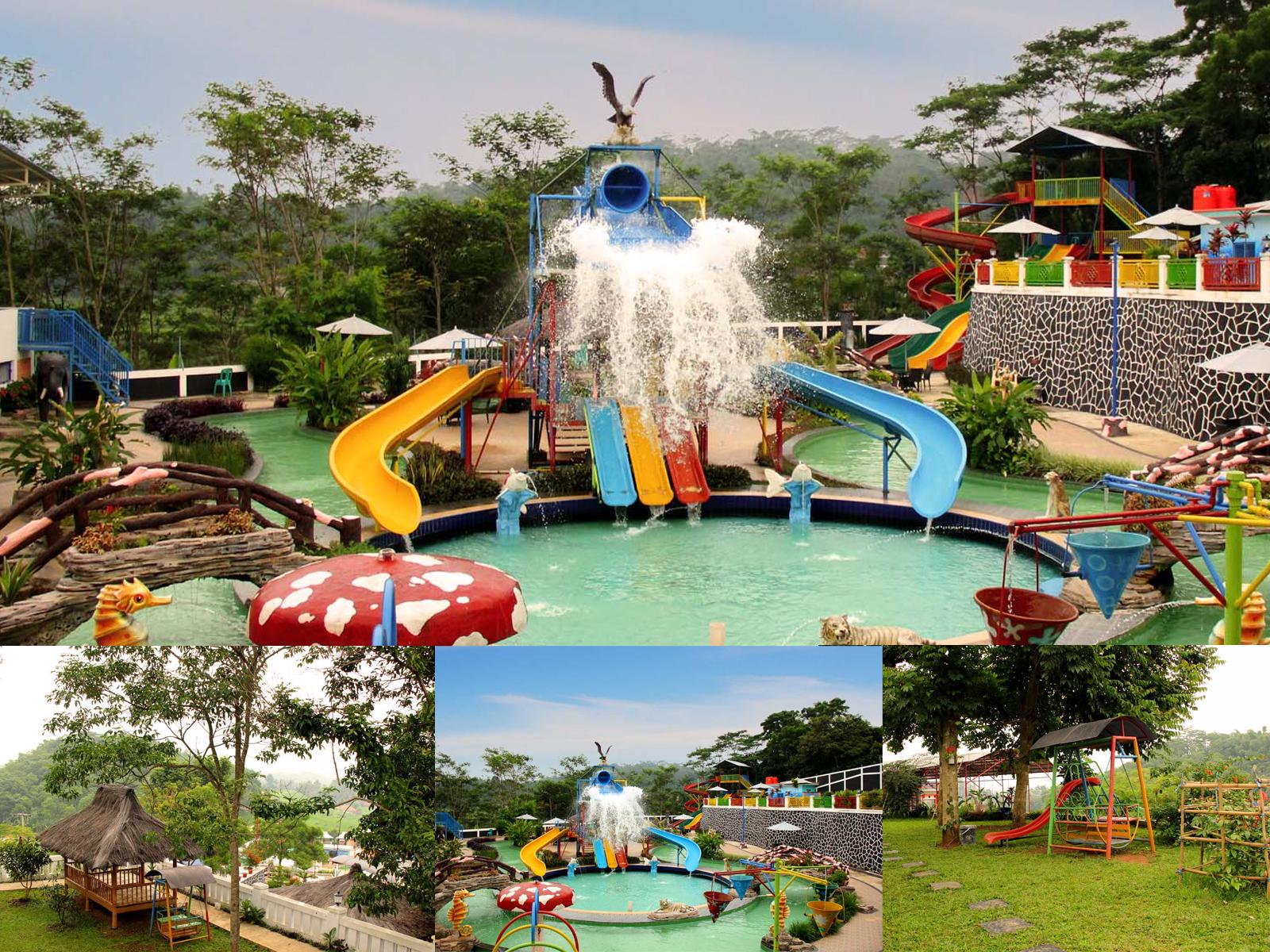 Jajaway Waterpark Cijenuk Kabupaten Bandung Barat
