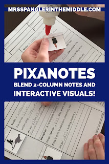 Pixanotes are a blend of 2-column notes and interactive visuals that boost comprehension and recall!  Get a free sample!