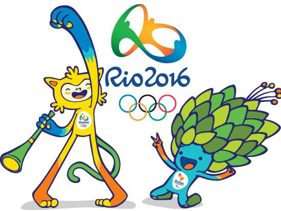 Las Mascotas Olímpicas de Río 2016 - vector