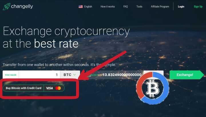 depositare bitcoin pakai kartu kredit
