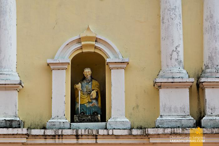 Iba Cathedral Zambales Facade Detail