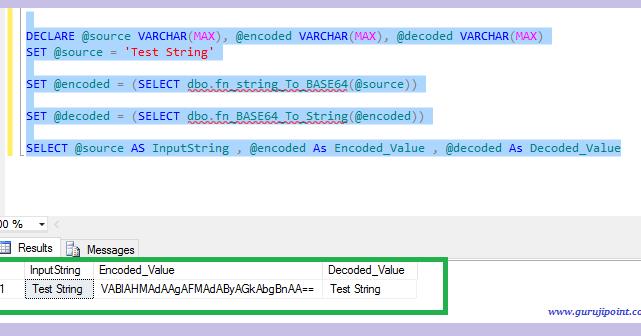 Guruji Point - Code You Want To Write: Base64 Encoding And