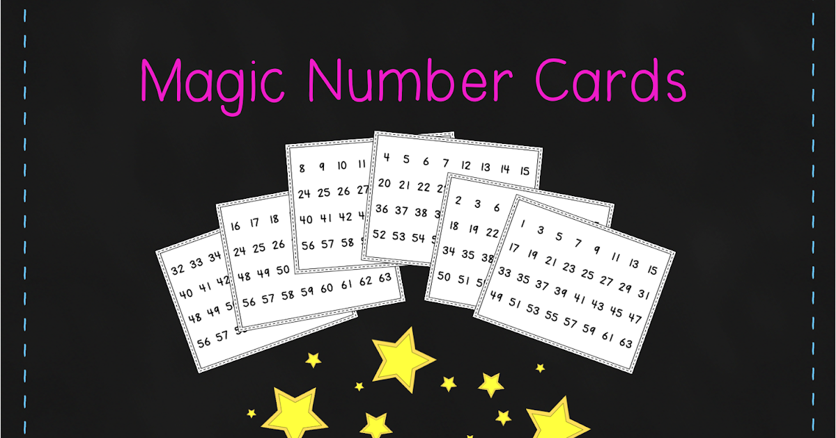 diary of a grumpy teacher freebie friday magic number cards