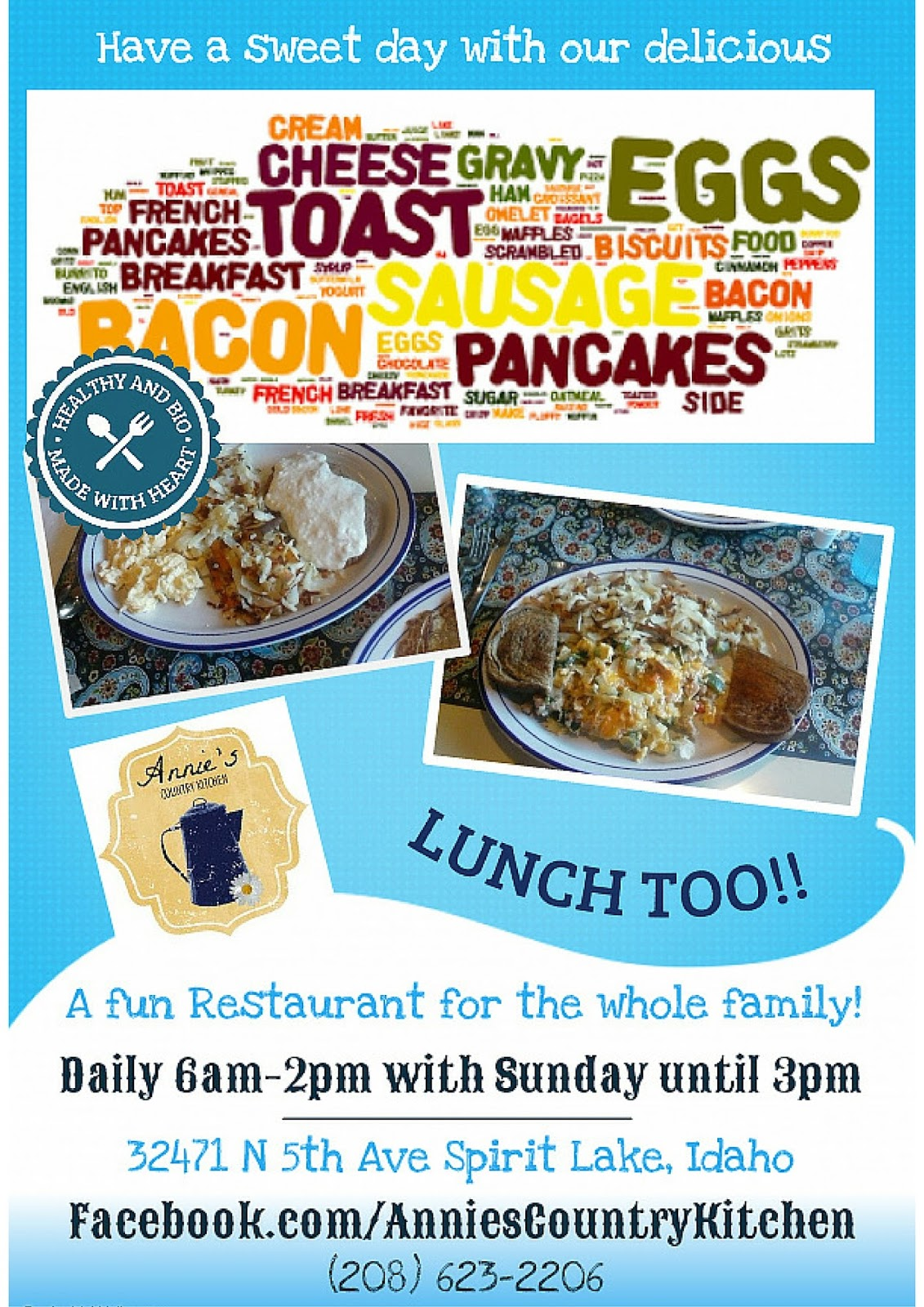 Double Team Promotion Social Media: Annie\'s Country Kitchen in ...