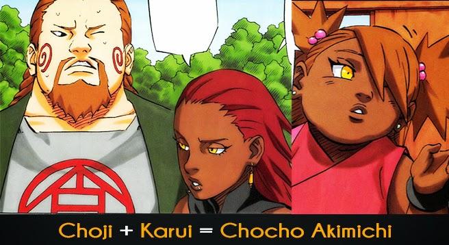 Kishimoto On Why He Paired Choji And Karui Anime Onehallyu