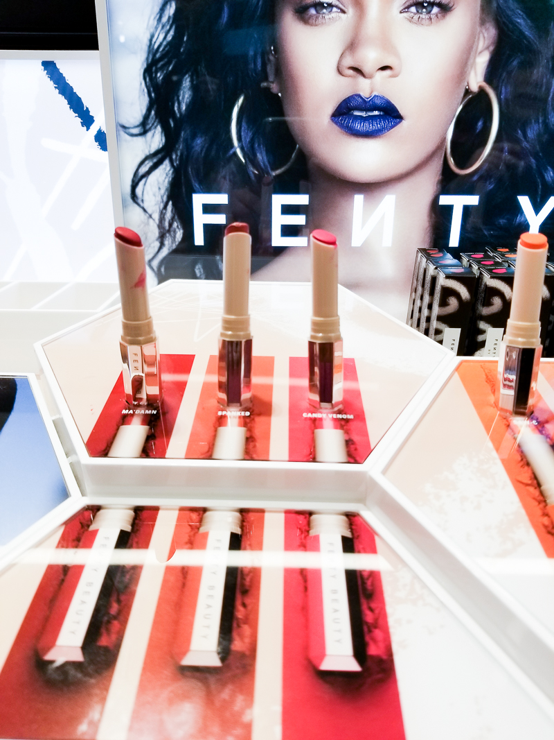Fenty Beauty by Rihanna - Mattemoiselle Plush Matte Lipsticks - Swatches