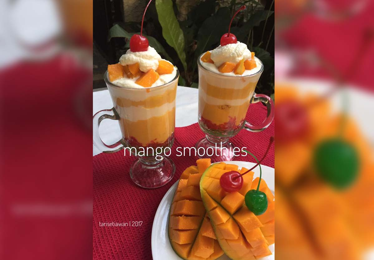 Resep Membuat Mango Thai (King Mango/Mango Smoothies)