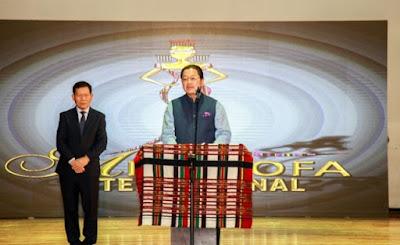 Miss Zofa 2018 Final-ah Mizoram Chief Minister