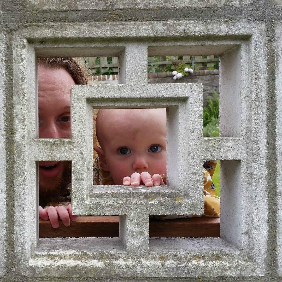 This Little Big Life: Peeking through wall