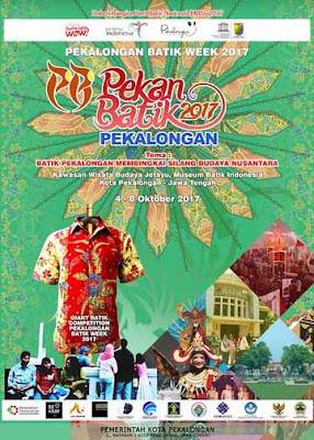 Pekalongan Batik Week 2017