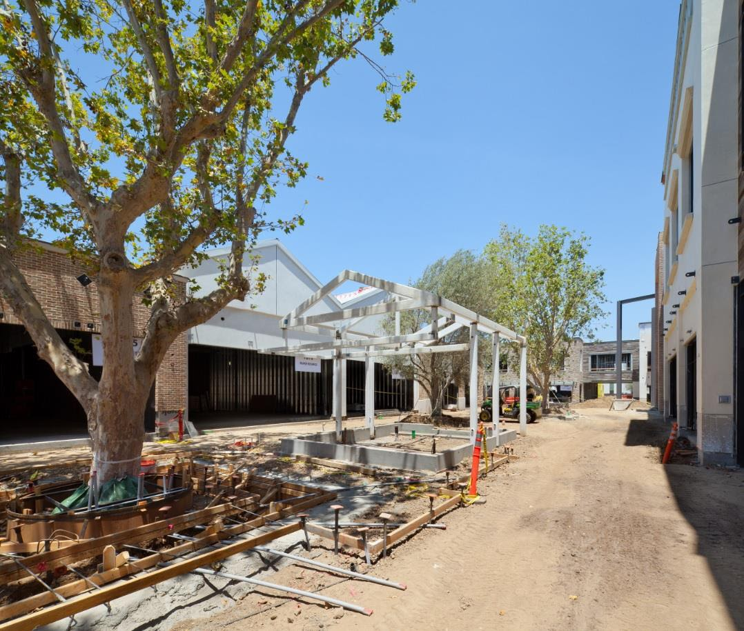 The Village At Westfield Topanga Construction