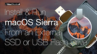 Install and Run macOS Sierra from an External SSD or USB Flash Drive