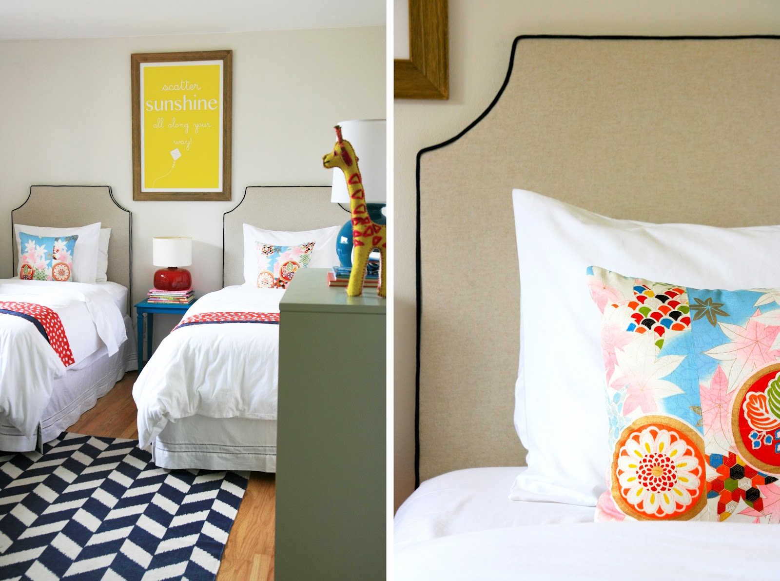 Pretty Shared Bedroom Designs For Girls: A Closeup Of A Few Of Those Favorites