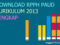 Contoh RPPH PAUD Kurikulum 2013 Lengkap