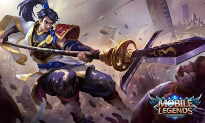 Zilong Starlight Skin Eastern Warrior Mobile Legends