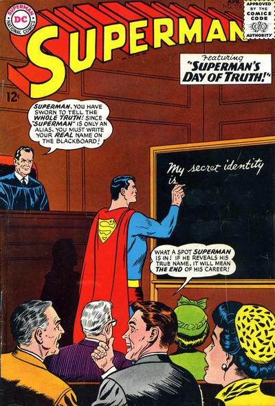 Episode #381 Part I: Superman Comic Book Cover Dated April 1965: Superman #176!