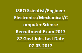 ISRO Recruitment 2019 | WITHOUT GATE SALARY ₹ 56,100 ...