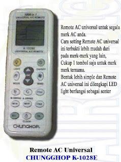 Chunghop k-1028e manual