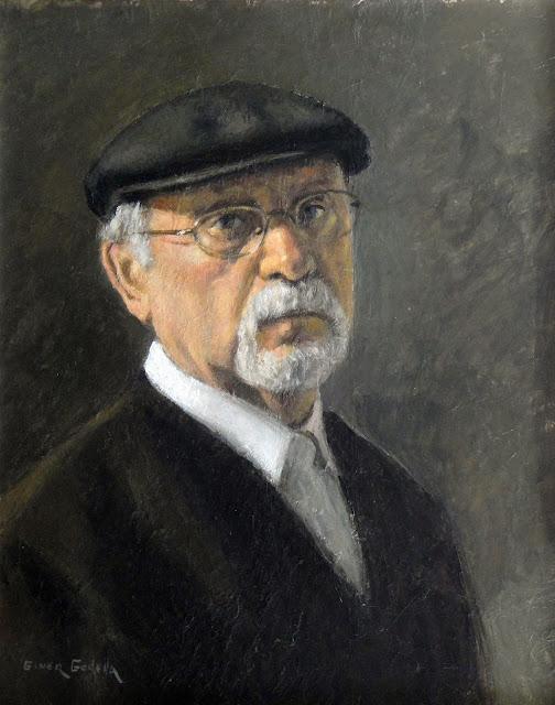 Giner Godella, Self Portrait, Portraits of Painters, Fine arts, Portraits of painters blog, Paintings of Giner Godella, Painter  Giner Godella