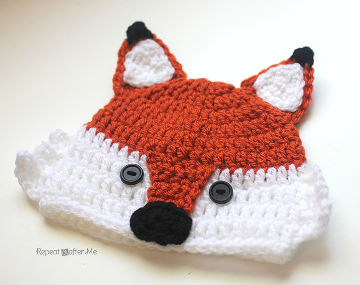 ... friendly fox hat! Feel free to add earflaps or maybe a cute little bow  on one of the ears for a girl  Can t wait to see what you do with the  pattern! 1ff4be4867c