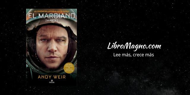 """""""El Marciano"""" de Andy Weir"""