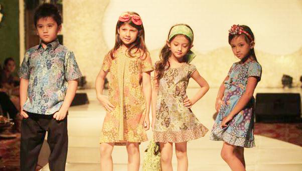 Tips Memilih Baju Batik Anak Untuk Fashion Show