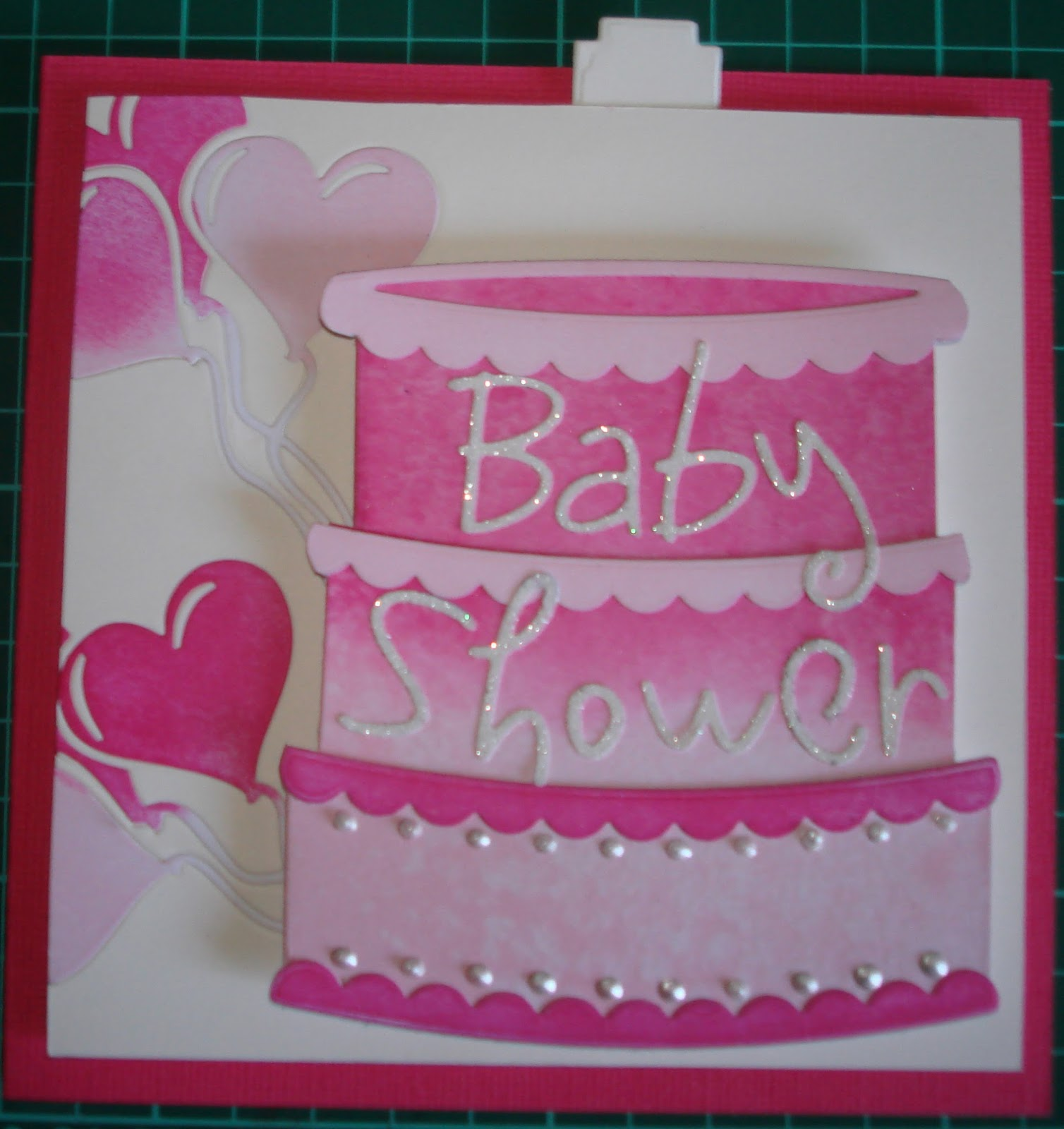 Lorraine Lives Here Baby Shower Card For A Girl-2021