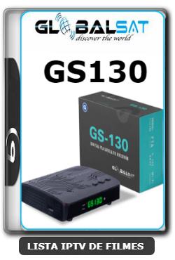 Globalsat GS130 Nova Atualização Melhorias SKS, IKS e VOD ON V1.37 - 16-02-2020