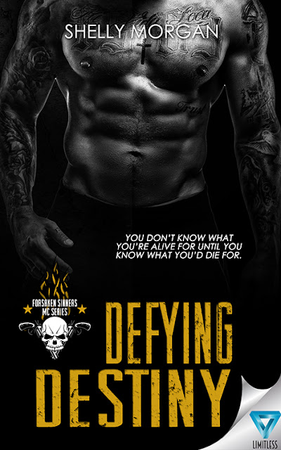 Cover Reveal: Defying Destiny by Shelly Morgan