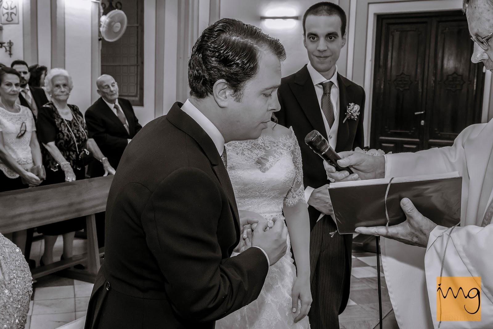 Fotografía de boda, la alianza