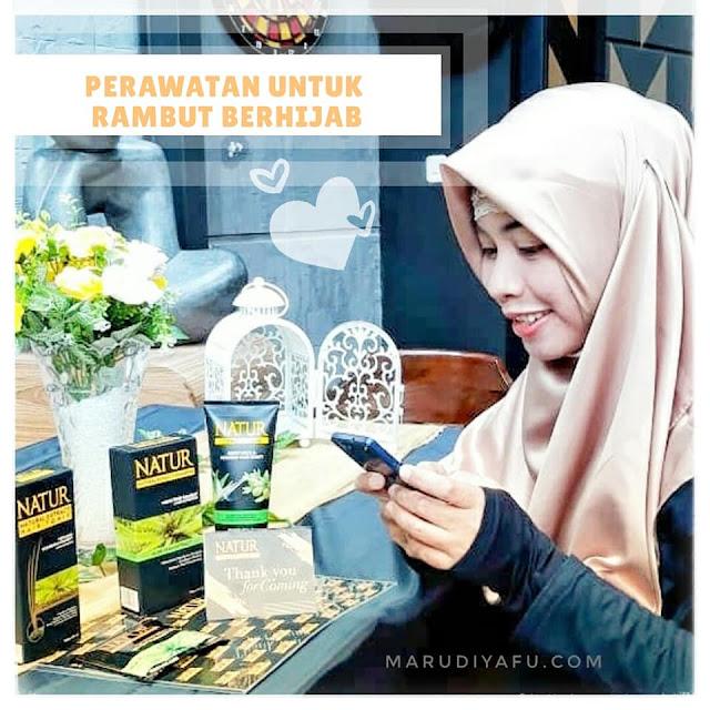 Natur, Blogger Muslimah, Natur X Blogger Muslimah, Perawatan untuk Rambut Berhijab #BloggerMuslimahXNatur, Natur Hair Care