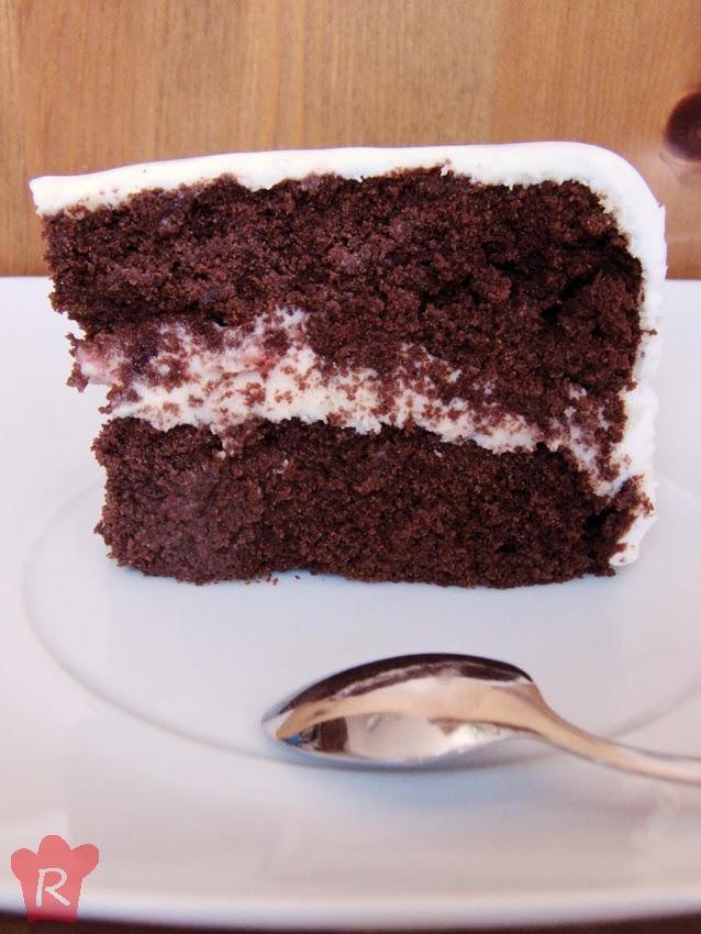 pastel de chocolate cremoso