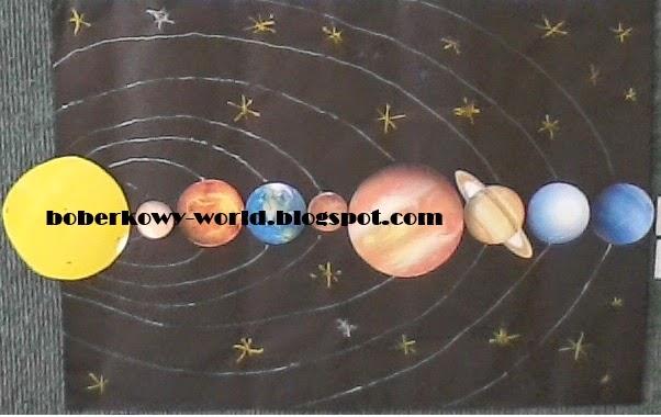 Boberkowy World Kosmos Układ Słoneczny Konspekt Zajęć