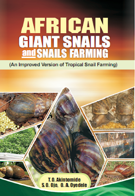 African Giant Snails & Snail Farming (2nd edition) COVER