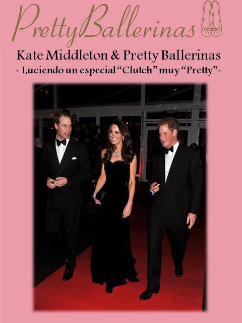 """KATE MIDDLETON, ESPECTACULAR,  LUCIENDO UN  """"CLUTCH"""" DE PRETTY BALLERINAS"""
