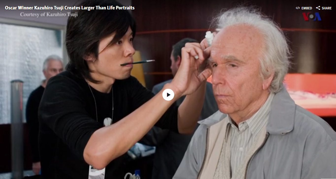 Oscar Winner Kazuhiro Tsuji Creates Larger Than Life Portraits